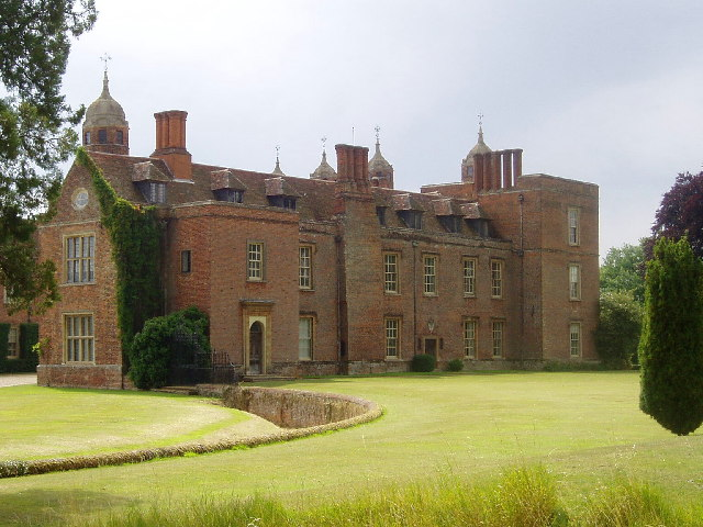 Melford Hall, National Trust in Suffolk