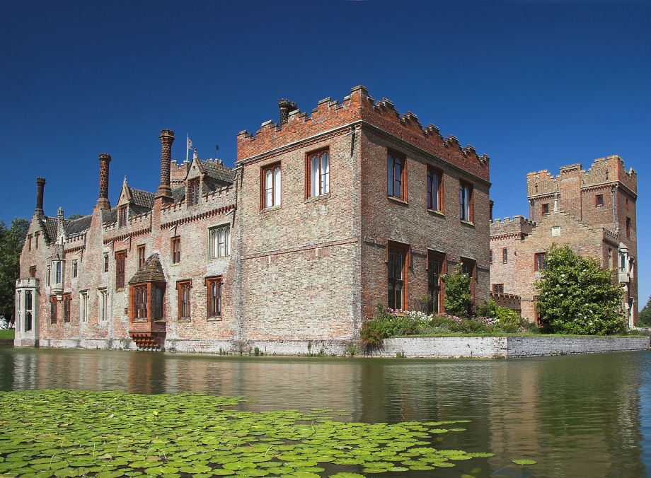 Oxburgh Hall, National Trust in Suffolk